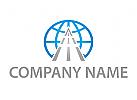 Zeichen, Zeichnung, Transport, Logistik, Erdball, Straße, Logo