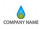 Zeichen, Zeichnung, Tropfen, Berggipfel, Logo