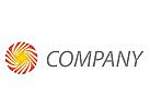 Kreis und Spirale Logo