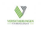 Versicherungen Logo, Buchstabe V, Finanzen, Investitionen, Bank