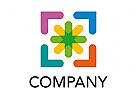 Pfeile Farben Logo