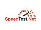 Motorrad, Speed-Test, Internet, Komponente Logo
