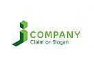 Modernes Logo, J