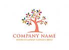 Baum, Bunt, Beratung, Pflege Logo