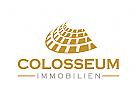 Colosseum Logo, Rom, Gebäude, Immobilien
