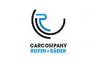 Logo R, Reifen, Auto, Motorrad