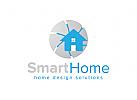 Haus Logo, Heim, Immobilien, Makler