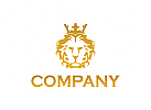 L�we logo, K�nig, Krone