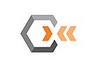 Logo Hexagon, Pfeilspitzen