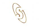 Logo Buchstabe S, Elipse