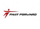 Zeichen, Signet, Logo, Mensch, Dynamik / Sport, Logistik / Transport
