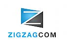 Zeichen, Signet, Logo, Zickzack, Buchstabe Z