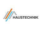 Logo Dach, Haustechnik