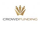 Logo Krone, Crowdfunding, Menschen