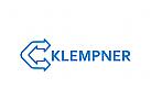 Klempner Logo, Haus