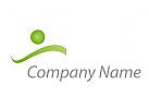 Zeichen, Skizze, Person, Bewegung, Schwimmer, Logo