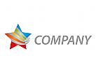Stern, farbig Logo