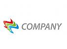 Wellen, farbig Logo