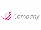 Perle und Schleife Logo