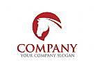 Pferd Logo, Pferdefarm