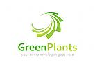 Ökologie, Recycling, grün Logo