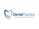 Zähne Logo, Zahnarzt Logo