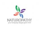 Medizin, Pharmazie, Blatt, Bl�te Logo