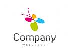 Logo Wellness, Schmetterling