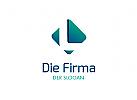 L, Pfeil Logo