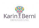 Logo f�r Coaching, Coach, Naturschutz,
