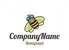 Logo Biene