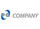 Zwei Kugeln in Bewegung Logo