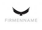 Logo, Vogel, Adler, Rabe