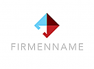 Zeichen, Signet, Logo, Pfeil, Raute, Logistik, Transport