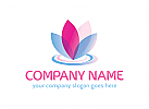 Wellness, Kosmetik, Sch�nheit, Blume Logo