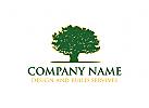 Eiche, Baum Logo