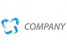 Wellen, Linien, Halbkreise Logo