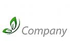 Schmetterling in gr�n Logo