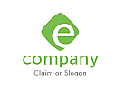 Modernes Logo, Buchstabe E