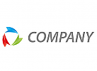 Ökologie, Drei Pfeile, farbig Logo
