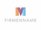 Logo, M, V, Abstrakt