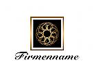 Logo abstrakter Schmuck
