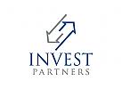 Investitionen Logo, Finanzen, Immobilien