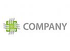 Chip, Elektriker Logo