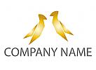 Zwei V�gel Logo