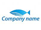 Fisch und Wellen Logo