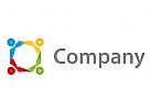 Vier Personen, Gruppe Logo