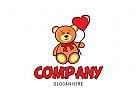 Logo f�r Kinder, Spielzeug, Pl�schtiere, Baby, B�r