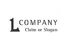 Modernes Logo, Buchstabe L