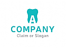 Modernes Logo, Zahnarzt, Zahnmedizin, Dental, Dentallabor, Buchstabe A